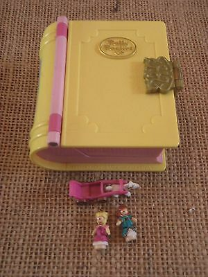 Vintage Bluebird Polly Pocket Princess Palace Enchanted Storybooks Book Complete