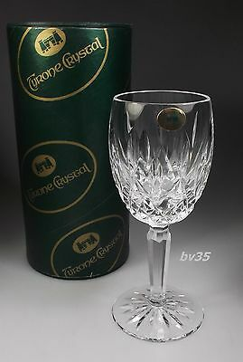 "Tyrone Crystal Tyr1 Sherry Wine Goblets 4 1/8"" - New In Box"