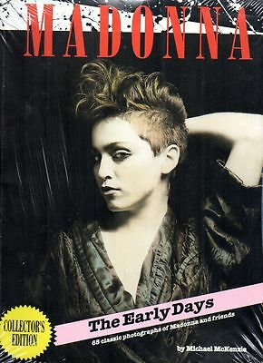 Madonna The Early Years Collector's Edition Magazine Mint Sealed Book Rare......