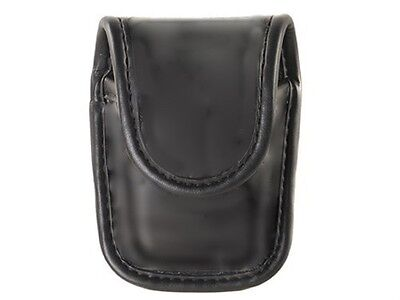 Bianchi AccuMold Elite 22114 Plain Leather Pager or Glove Pouch With Hidden Snap