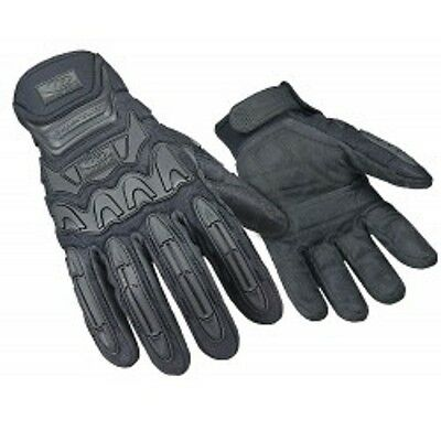 Ringer's 577-10 Black Large SuperCuff HD Reflective Tactical Gloves