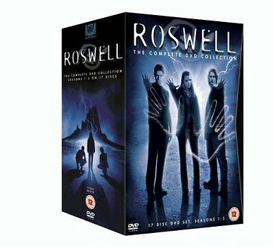 Roswell Series Complete Seasons 1, 2 & 3 Dvd Box Set Brand New Region 2