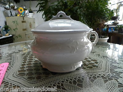 Antique Authentic Chamber Pot For Bedroom.  From N.y. State