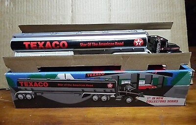 1994 Texaco Toy Tanker~1St In Series~Semi Gas Truck Unplayed With Condition
