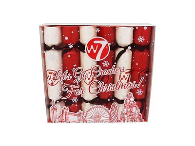 W7 6PC Let's Go Crackers for Christmas Makeup Cracker Gift Set Limited Offer