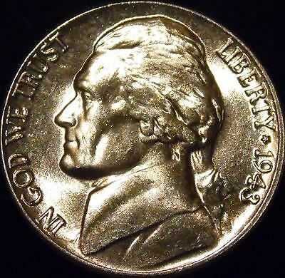 SP 1943-D Silver Full Step FS Gem BU Jefferson Nickel RARE 6 Steps
