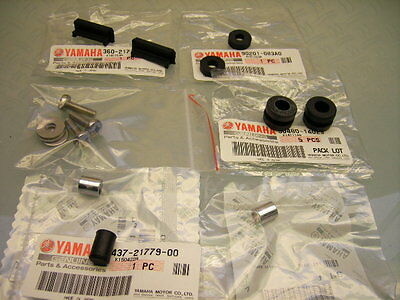 Original Yamaha Side Cover Panel Oil Tank Rubber Damper Mounting Kit Rd250 Rd350