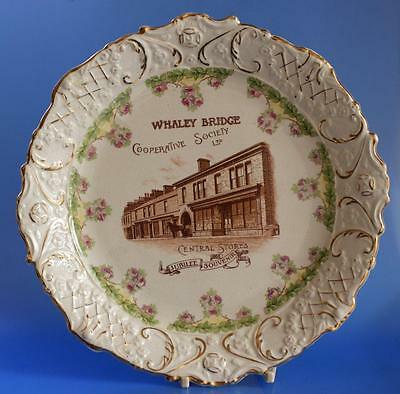 Co op Cooperative Wholesale Society CWS Advertising Plate Whaley Bridge