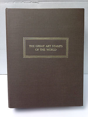 1978 Franklin Mint Great Art Stamps of the World Album 100 First Day Cvrs ! |