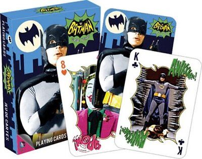 Batman 1960's TV Series Photo Illustrated Poker Playing Cards Deck, NEW SEALED