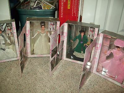4 Doll Set of Barbie My Fair Lady Series/Collector's Edition