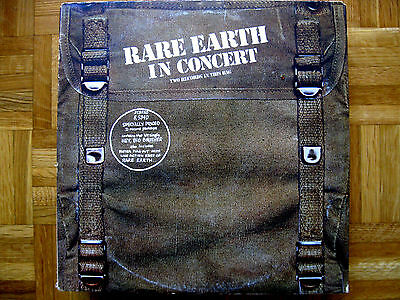 "RARE EARTH~IN CONCERT~1971 MOTOWN SOUL FUNK PSYCH ROCK 2 x 12"" LP *NM ORIGINAL*"