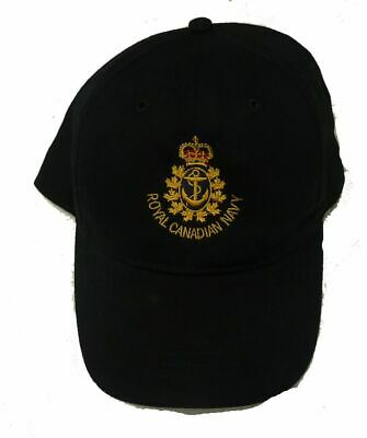 Royal Canadian Navy Veteran Cap with pre 1968 RCN Badge