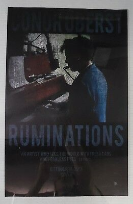 """Conor Oberst - Ruminations * 11"""" x 17"""" Official Promo Poster * Rare * Limited"""
