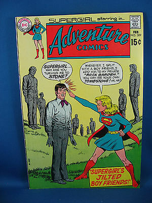 Adventure Comics 389 Vf Nm  Supergirl 1970