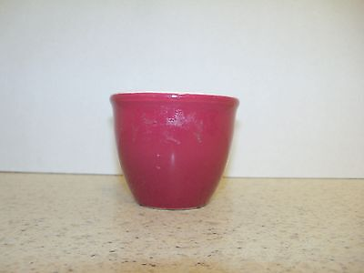 H.f Coors Chefware Custard Dish/egg Cup Maroon (S)