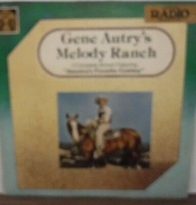 Gene Autry's Melody Ranch 3 complete shows 33RPM Orig. Radio Broadcast 110516LLE
