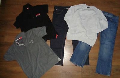 16 Items Men's Everyday Casual Clothing Bundle Job Lot Size L