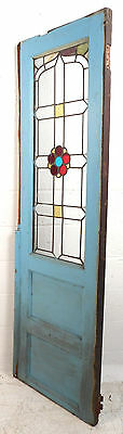 Vintage Slim Stained Glass Door (2719)NJ
