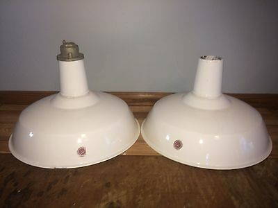 (VTG) 1950 Industrial Light Fixtures Appleton Electric Urban Chic Decor Salvage