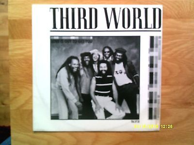 "Third World Love Is Out To Get You 12"" Single 1983 N/mint"