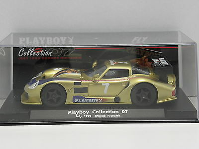 Fly 99053 Slot Car Marcos LM600 Playboy Collection 07 July 1999 Brooke Richards