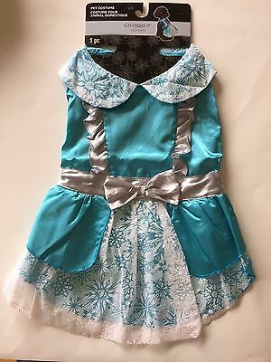 PET DOG COSTUME Fancy Dress Alice in Wonderland HALLOWEEN OUTFIT SIZE LARGE