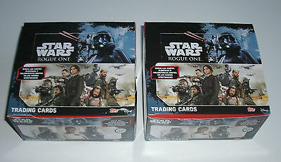 Topps Star Wars Rogue One - 2 x Display / 100 Booster NEU & OVP