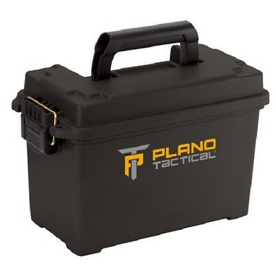 "Plano 171264 Black Single Tactical Custom Ammo Box Hard Case 13.75"" x 7"" x 8.75"""