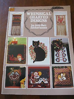 Whimsical Charted Designs: Cross stitch Patterns: 1998 :Preloved