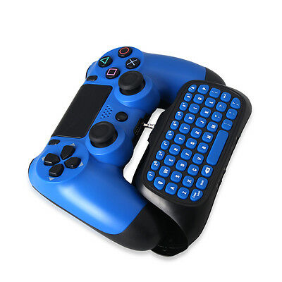 2.4G Wireless Keyboard Chatpad Keypad For Sony PS4 PlayStation 4 Slim Controller