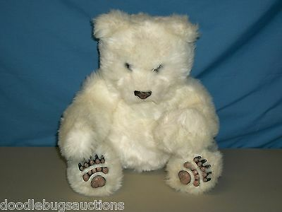 2004 LUV CUBS FurReal Friends WHITE POLAR BEAR Electronic Interactive Plush Doll
