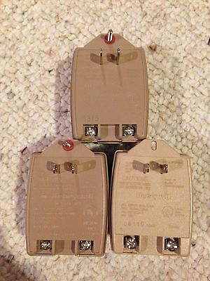 3 Lot Honeywell Ademco 1321 16.5V 25VA plug alarm transformer V10P V15P V20P NEW