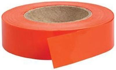 Hunter's Specialties 00790 Non-Adhesive Flagging Tape Orange 150 Ft. Long