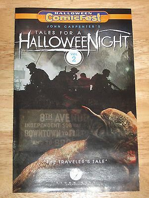 2016 Halloween Comicfest John Carpenters Tales for a Halloween Night  *In Hand*