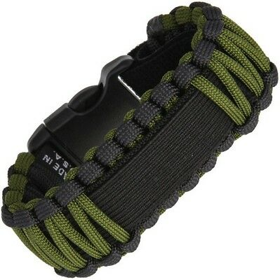 Survco Tactical WBBLKADJGS129 Replacement ParaCord Watch Band OD Green