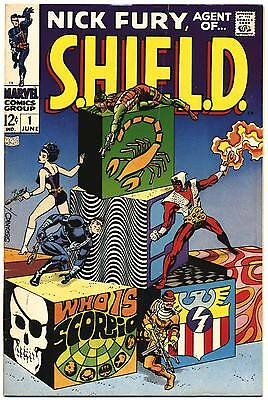 NICK FURY AGENT OF SHIELD #1 VG/F, Jim Steranko S.H.I.E.L.D. Marvel Comics 1968