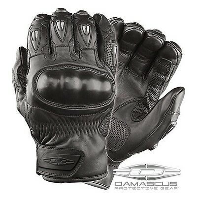 Damascus Worldwide CRT50XLG Vector Hard Knuckle Riot Control Gloves Black - XL
