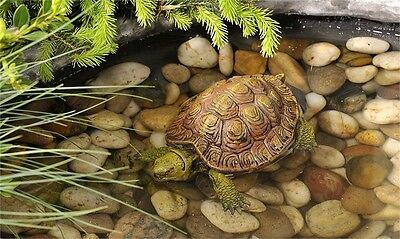 TURTLE  POND FLOATER - FOUNTAINS- garden pool figurine yard decoration floats