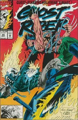 Ghost Rider #29 comic book Wolverine Beast