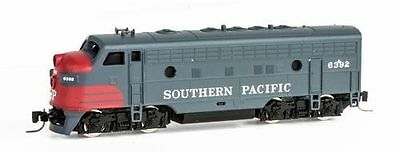 """Southern Pacific F7A Locomotive """"Bloody Nose"""" Cab #6392 MTL #980 01 170 Z-Scale"""