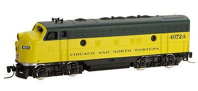 Chicago & North Western F7A Powered Locomotive MTL# 980 01 382 Z-SCALE