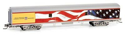 Union Pacific Heritage US Flag Passenger Baggage Car MTL#553 00 015 Z-Scale