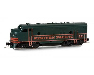 Western Pacific F7A Powered Locomotive Z Scale Micro-Trains MTL #980 01 292 NEW