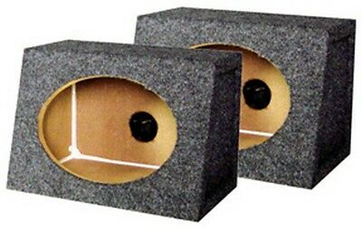 """Qpower QTW6X9 Carpeted Sealed Angel Style 6"""" x 9"""" Box"""