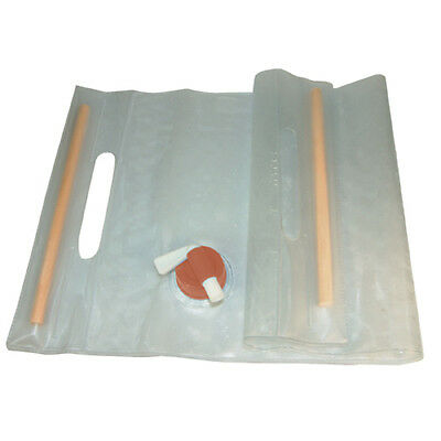 Ultimate Survival Technologies 20-02131-10 Water Carrier Clear Roll-UP 10 Liter