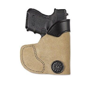 Desantis 111NA8BZ0 Pocket-Tuk Holster For Glock 43 RH Natural