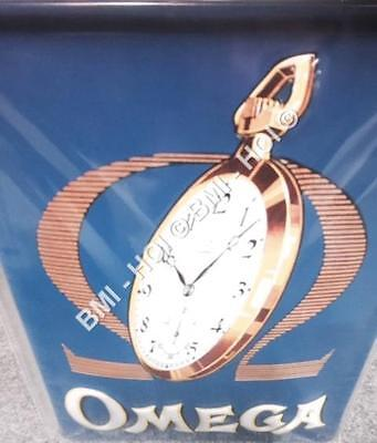 "OMEGA Swiss Watch - old classic advertisement on Metal sign 12"" x 8"" inches"