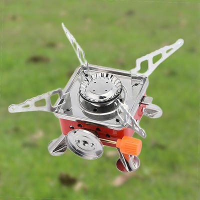 Portable Mini Gas Stove for Camping Outdoor Picnic Cooking Windproof Furnace