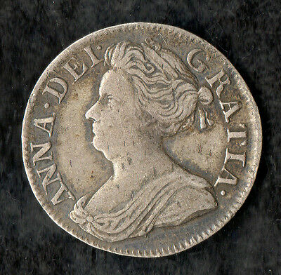 Queen Anne Maundy Threepence Silver 1710